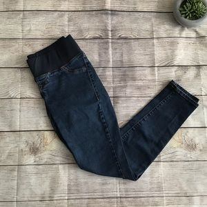Old Navy Dark Wash Underbelly Skinny Jeans